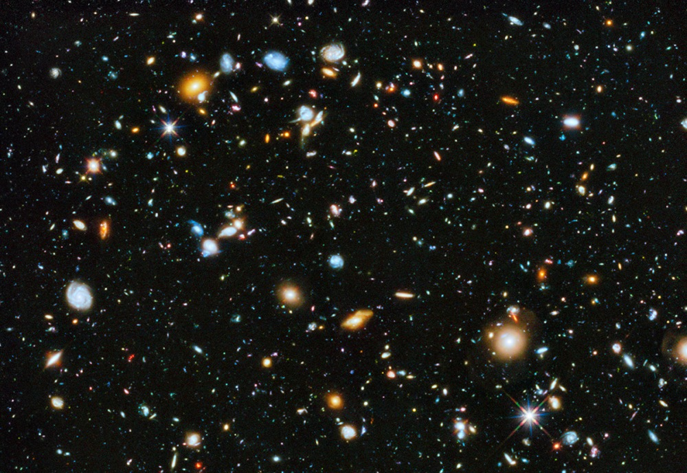 Hubble Ultra Deep Field - credit NASA